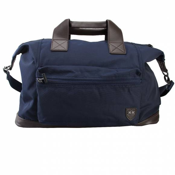 LA MARTINA TRAVEL BAG 41JBA2 M2206 NAVY BLUE