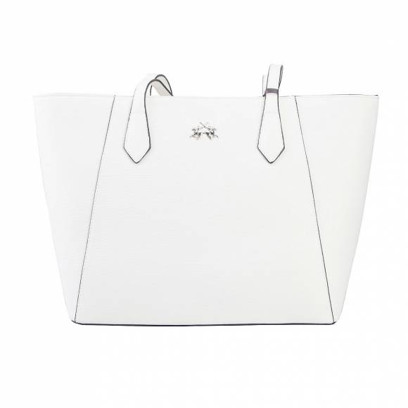 LA MARTINA SHOPPING BAG 41JBA1 W1001 WHITE