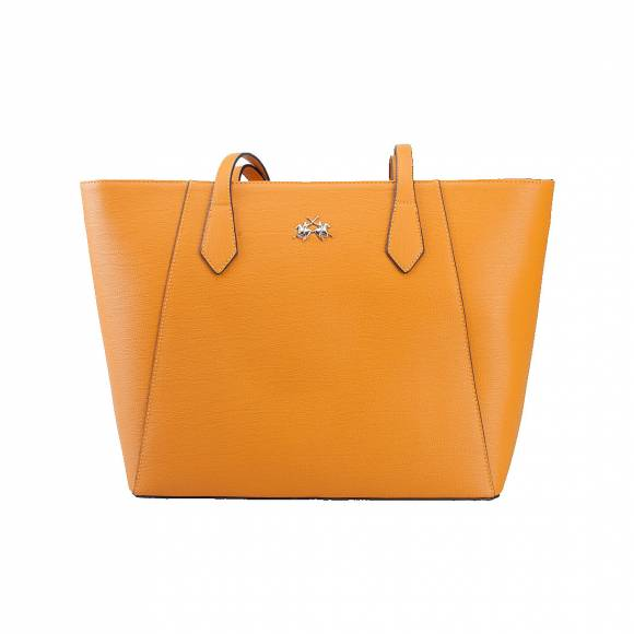 LA MARTINA SHOPPING BAG 41JBA1 W1001 ORANGE