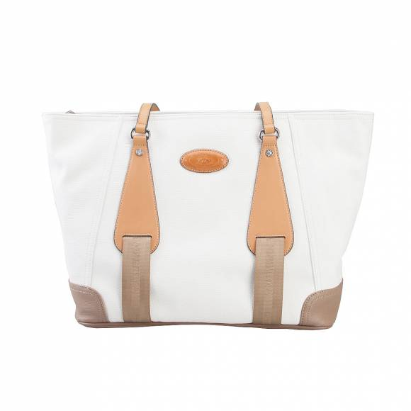 LA MARTINA SHOPPING BAG 41JBA1 W1505 WHITE