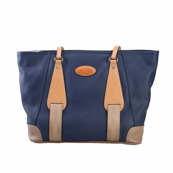 LA MARTINA SHOPPING BAG 41JBA1 W1505 NAVY BLUE