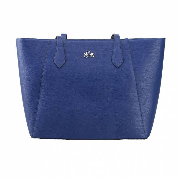 LA MARTINA SHOPPING BAG 41JBA1 W1001 BLUE