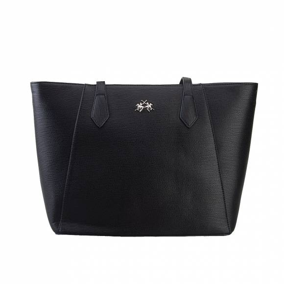 LA MARTINA SHOPPING BAG 41JBA1 W1001 BLACK