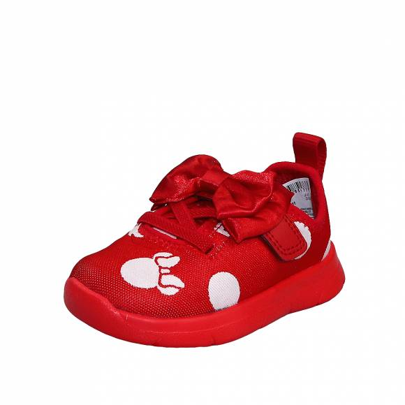 Παιδικά Sneakers Clarks Ath Bow T 26142411 6 Red Combi