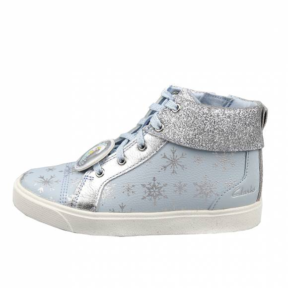Παιδικά Sneakers Clarks City Ice T 26151862 6 Light Blue