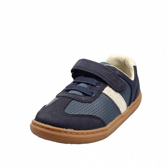 Παιδικά Sneakers Clarks Flash Step T 26149584 Navy combi leather