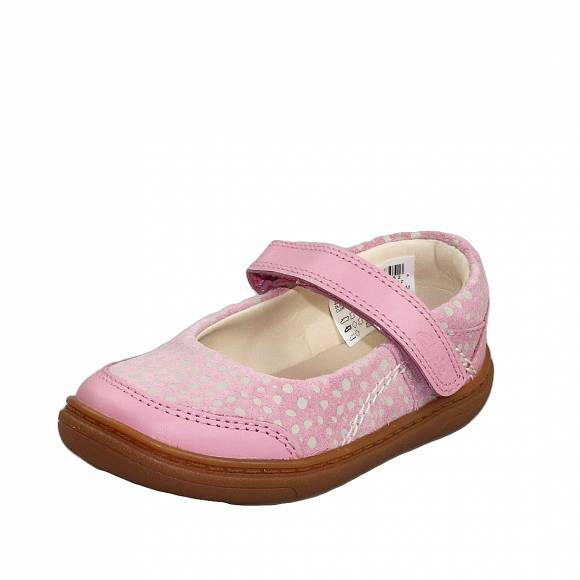 Παιδικές Μπαλαρίνες Clarks Flash Stride T 26149756 6 Dusty Pink leathe