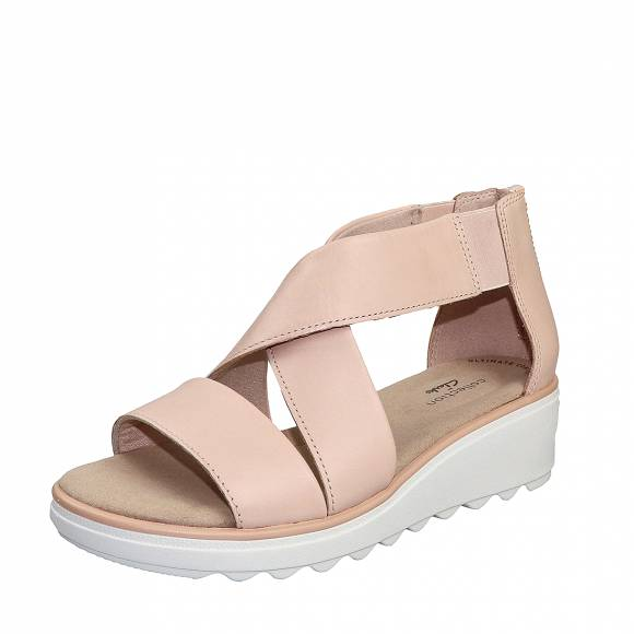 Γυναικεία Flatforms Clarks Jilian Rise 26150518 4 Blush leather