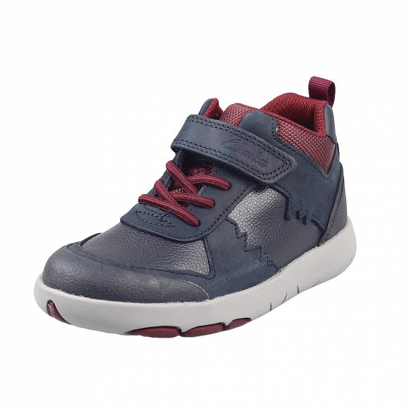 Παιδικά Sneakers Clarks Rex Park K 26153562 7 Navy leather