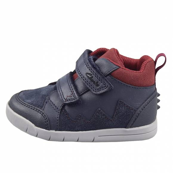 Παιδικά Sneakers Clarks Rex Park T 26152188 7 Navy leather