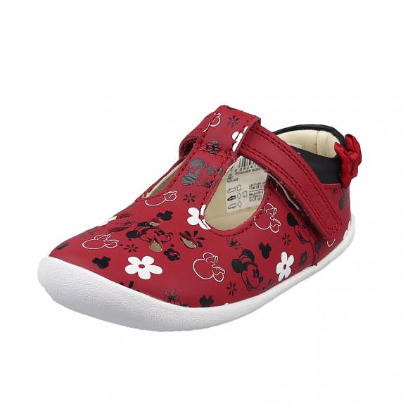 Παιδικά Sneakers Clarks Roamer Bow T 26153482 7 red