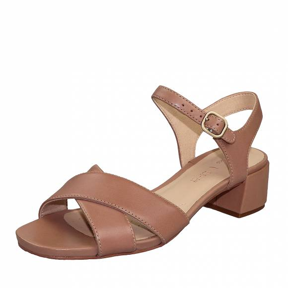 Γυναικεία Πέδιλα Clarks Sheer35 Strap 26148404 Praline leather