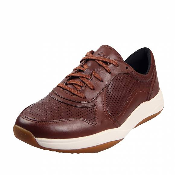Ανδρικά Παπούτσια Casual Clarks unstructured Sift Speed 26148125 7 British Tan leather