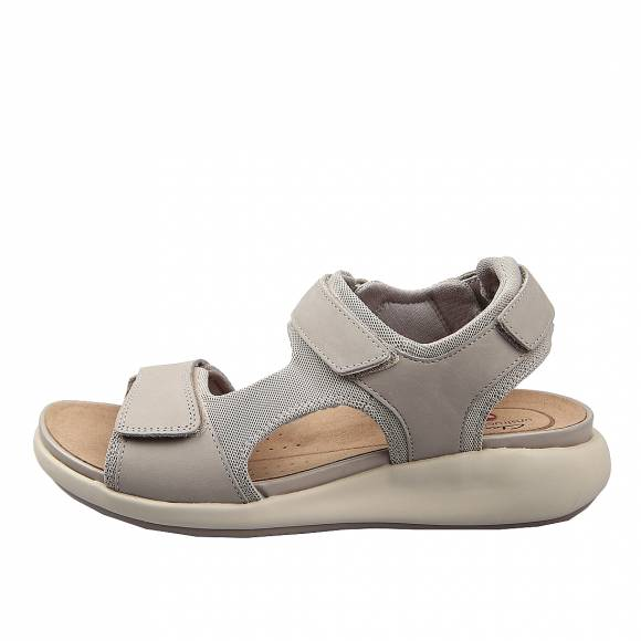 Γυναικεία Flatforms Clarks unstructured Un Bali Trek  26149694 4 Stone