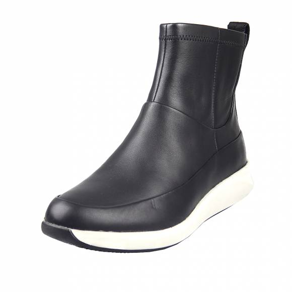 Γυναικεία Μποτάκια Casual Clarks Un Rio Free 26152038 4 Black Leather
