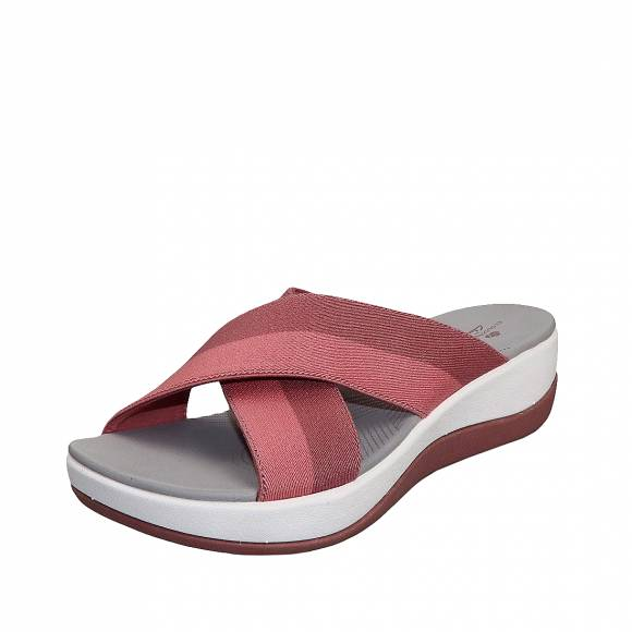 Γυναικεία Flatforms Clarks unstructured Arla Elin 26148898 4 Pink Multi