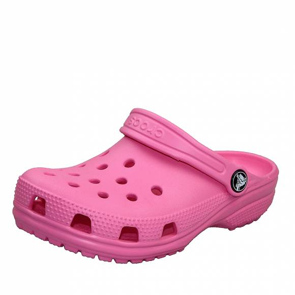 Παιδικά Crocs 204536 669 classic clog k pink iemonade roomy fit