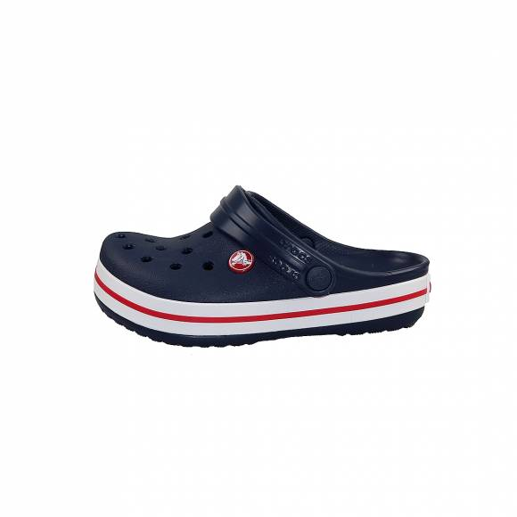 Παιδικά Clog Crocs 204537 485 Crocband Clog k Navy Red Relaxed Fit