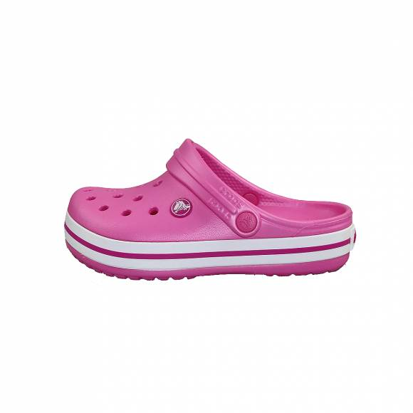 Παιδικά Clog Crocs 204537 6U9 Crocband Clog k Party Pink Relaxed Fit