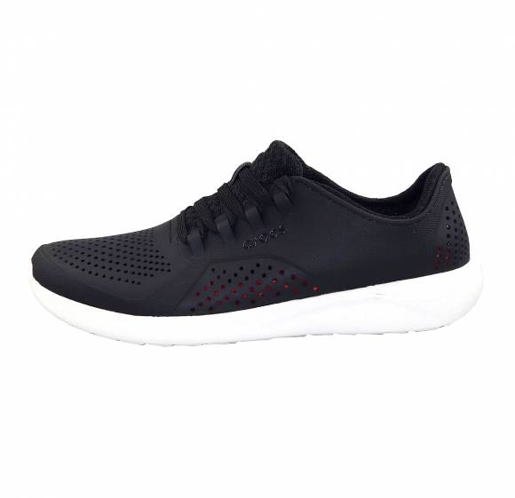 Ανδρικά Sneakers Crocs 204967 066 literide Pacer M Black White relaxed fit