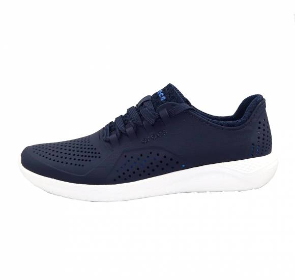 Ανδρικά Sneakers Crocs 204967 462 literide Pacer M Navy White relaxed fit