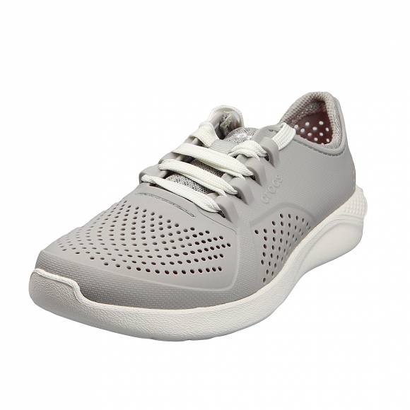 Γυναικεία Sneakers Crocs 205234 101 Literide pacer W Pearl Relaxed Fit