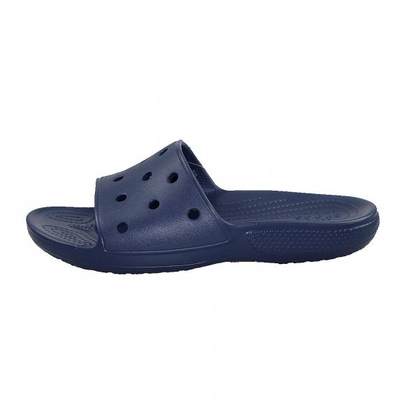 Ανδρικές Σαγιονάρες Crocs 206121 410 Classic Crocs Slide Navy Standard Fit