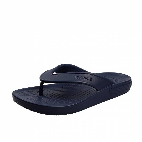 Unisex Σαγιονάρες  Crocs classic II flip navy relaxed fit 206119 410