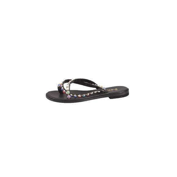 FN DONNA 10101 BLACK MULTI COLOUR
