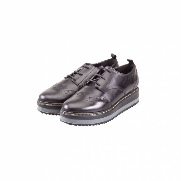 VERRAROS DONNA 1221 BLACK LEATHER