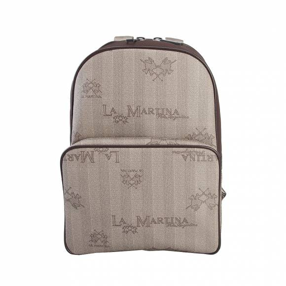 LA MARTINA BACKPACK 41JBA2 M2304 BROWN