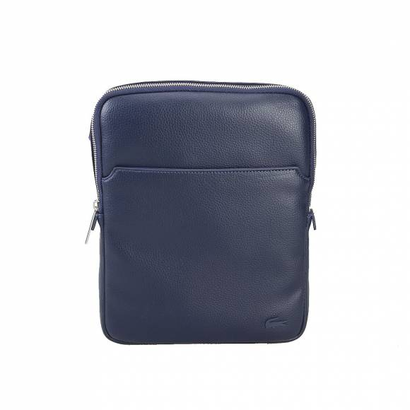 LACOSTE NH1741GL 021PEACOAT M FLAT CROSSOVER BAG