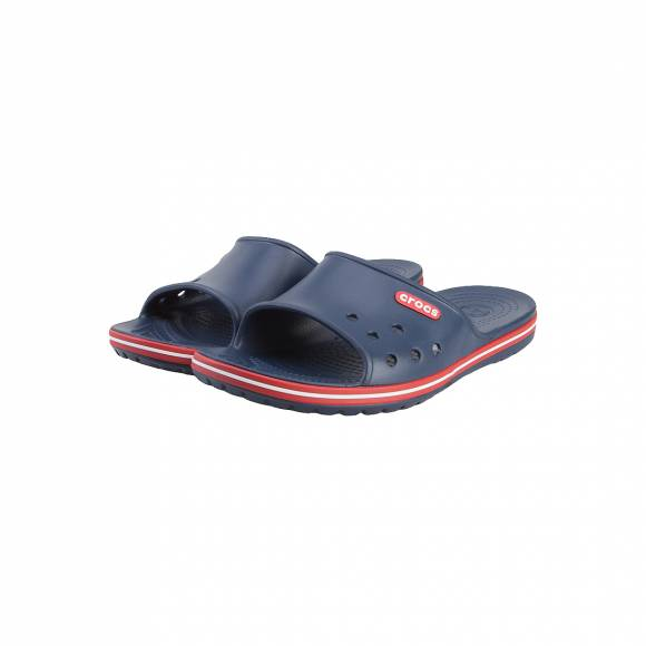 CROCS CROCBAND II SLIDE NAVY/PEPPER RELAXED FIT 204108-4CC