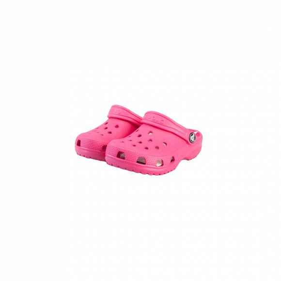 CROCS CLASSIC CLOG K CANDY PINK ROOMY FIT 204536-6XO