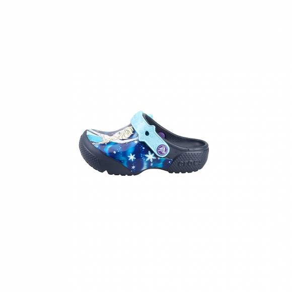CROCS CROCSFUNLAB FROZEN NAVY ROOMY FIT 204112-410