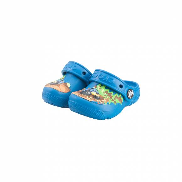 CROCS CROCSFUNLAB CLOG MONSTER TRUCK/ULTRAMARINE ROOMY FIT 204119/945