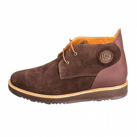 GUY LAROCHE 7303 BROWN SUEDE