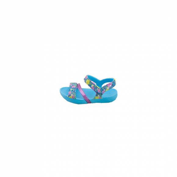 CROCS LINA SANDAL K 204030-404 ELECTRIC BLUE RELAXED FIT