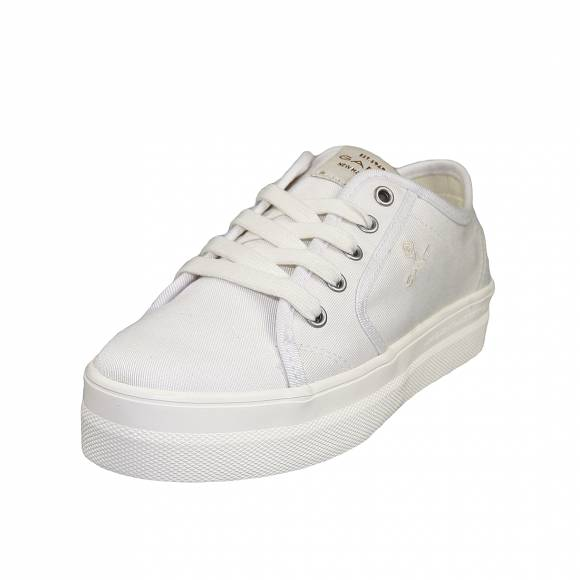 Γυναικεία Sneakers Gant Leisha 20538440 cotton twill G29 White