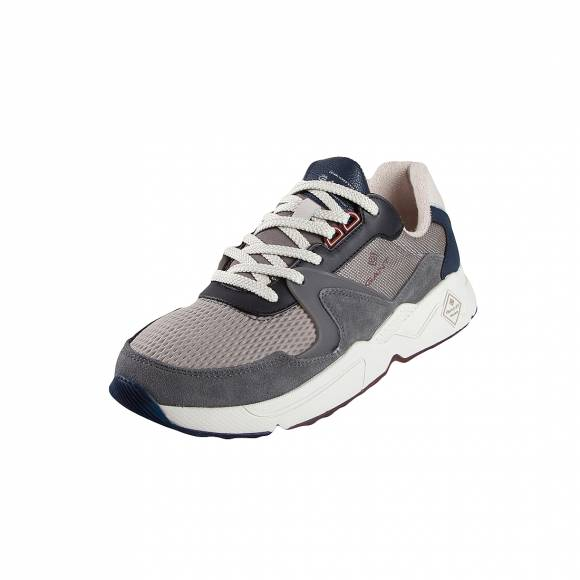 Ανδρικά Δερμάτινα Sneakers Gant Portland 19634857 G882 multi gray