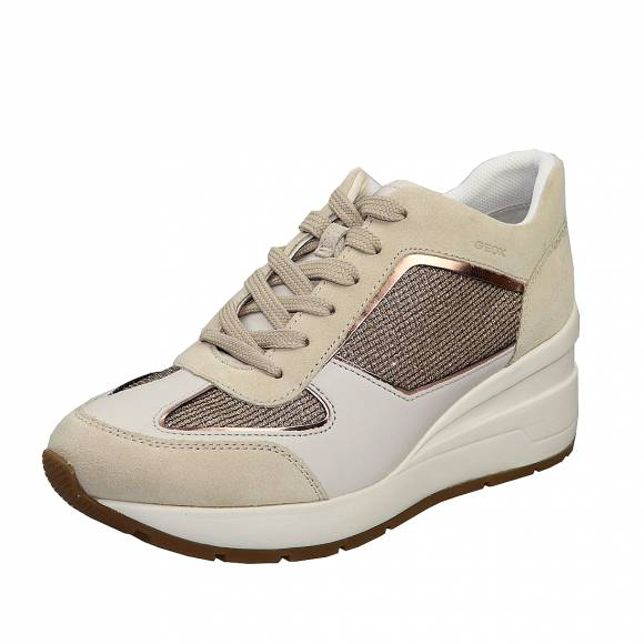 Γυναικεία Sneakers Geox D028LA 0AS22 C2217 Zosma Gold/Sand