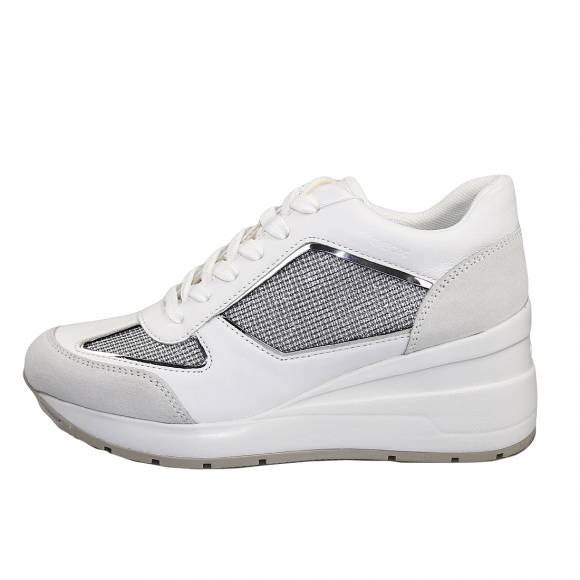 Γυναικεία Sneakers Geox D028LA 0AS85 C1303 Zosma Grey/White