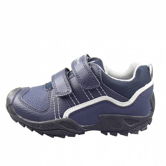Παιδικά Sneakers Geox J041VA 0FEFU C0661 J New Savage Boy Tum.Gbk Nyl Navy Grey Junior Shoes