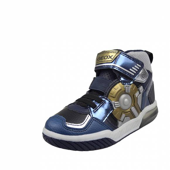 Παιδικά Sneakers Geox J049CA 0CE11 C4002 Inek Boy print dbk text Navy Junior