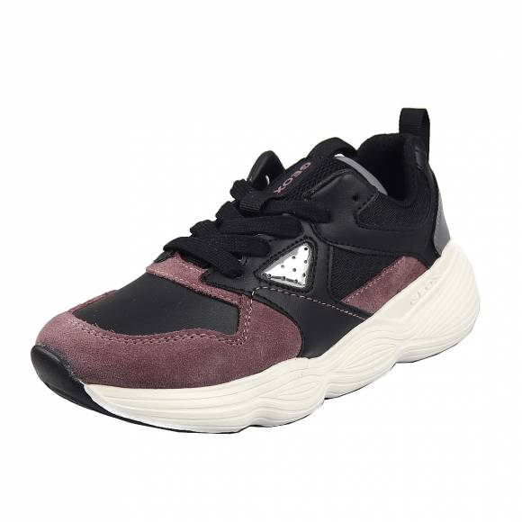 Παιδικά Sneakers Geox J04CNB 05422 C9388 Bubblex girl gbk suede Black Rose