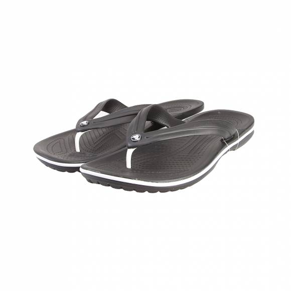 CROCS CROCBAND FLIP BLACK RELAXED FIT 11033-001