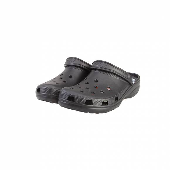 CROCS CLASSIC BLACK ROOMY  FIT 10001-001