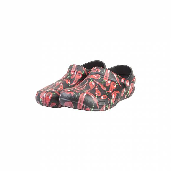 CROCS BISTRO PEPPERS CLOG BLACK ROOMY FIT 204283-001