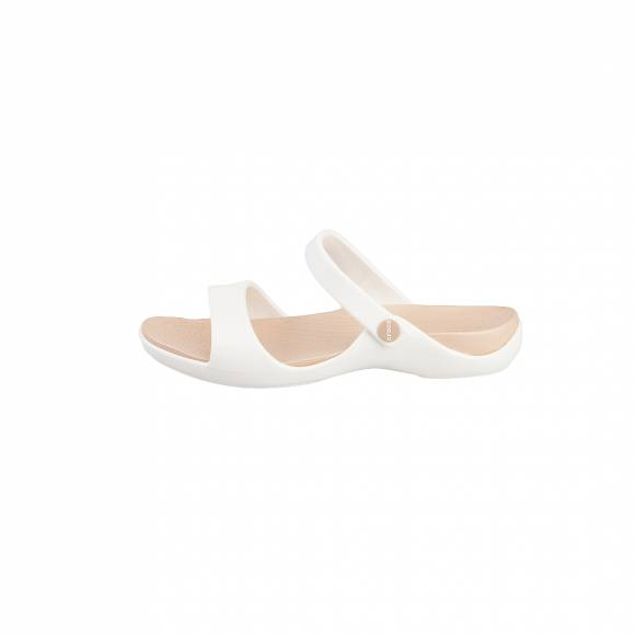 CROCS CLEO V OYSTER GOLD RELAXED FIT 204268-13S