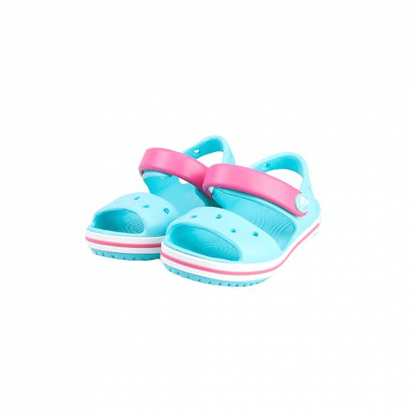CROCS CROCBAND SANDAL KIDS POOL CANDY PINK RELAXED FIT 12856-4FV